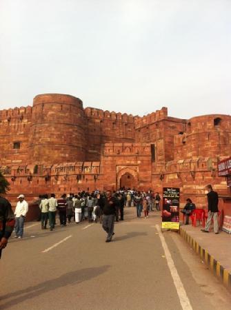 Fuerte de Agra: gate