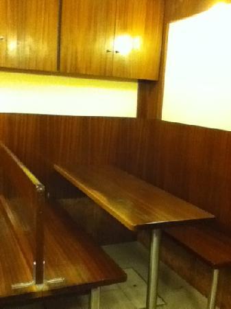 Gelato Fantasy : 座位