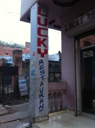 Lucky Restaurant: door