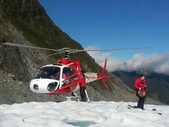 Glacier Helicopters : 看冰川
