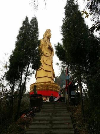 Kaijiang County, China: 露天观音