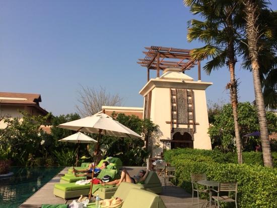 Siripanna Villa Resort and Spa Chiang Mai: 塔楼