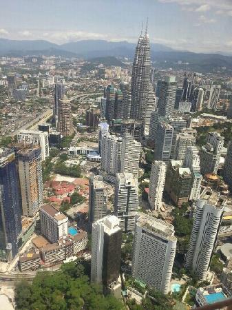 Centre ville de Kuala Lumpur : 俯瞰KLCC