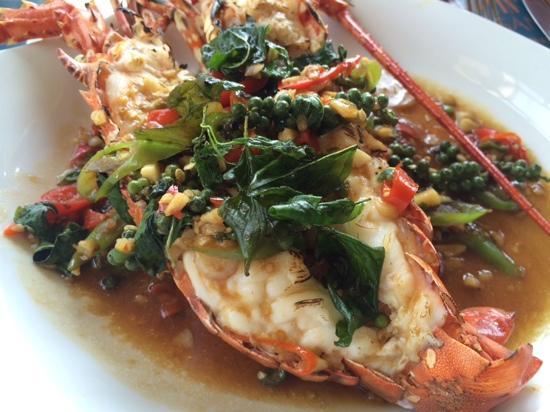 BEYOND THE SEA, Siamese Brasserie: 龙虾超赞