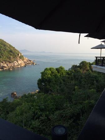 Banyan Tree Samui: 早餐餐厅景观