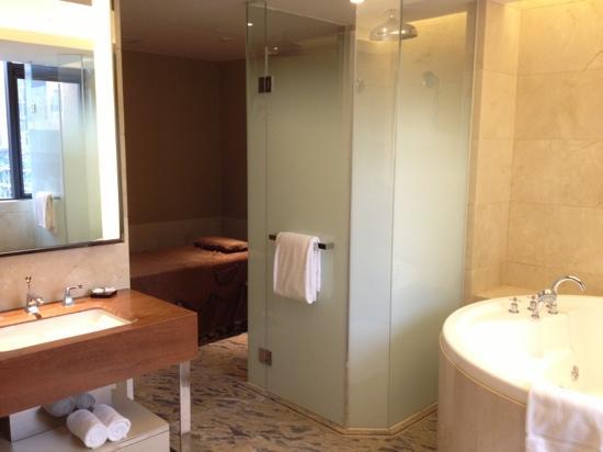 Kingrand Hotel Beijing: 行政间的卫生间