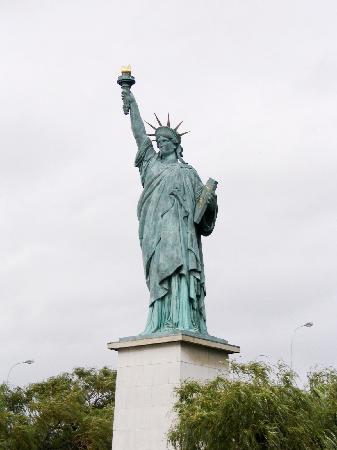 Statue of Liberty: 巴黎自由女神像