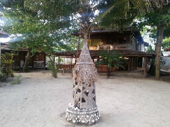 Onong Resort: 中庭