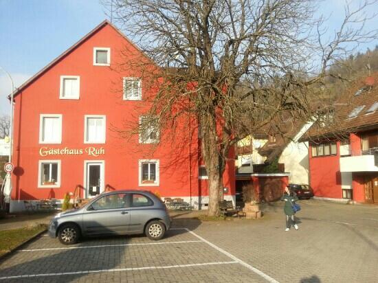 Gästehaus Ruh: 早晨