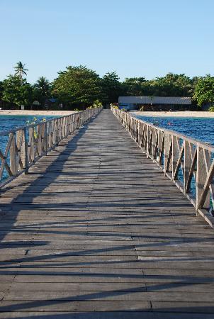 Borneo Divers Mabul Resort : 栈桥