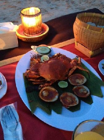 Jimbaran Bay: big crab