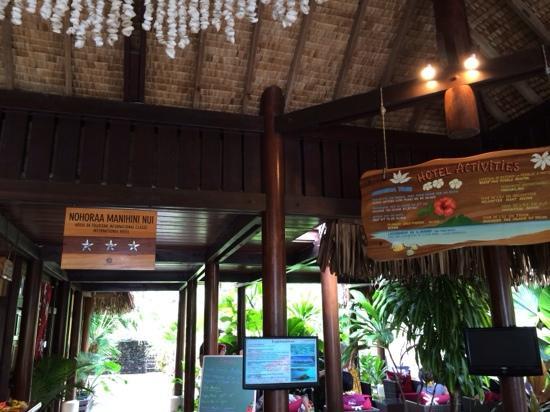 Maitai Polynesia Bora Bora: 酒店大堂