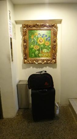 My Hotel Brickfields KL Sentral: MYHOTEL的电梯,电梯挺小的