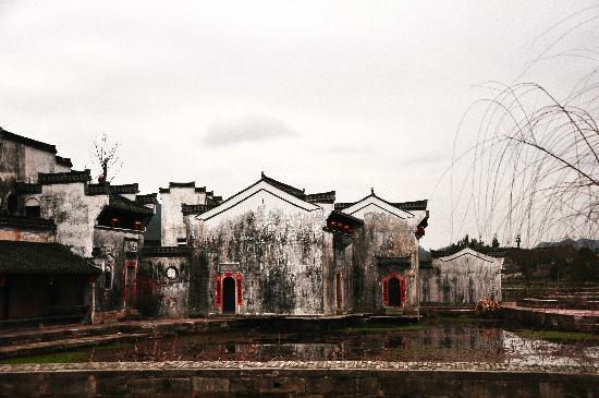 Ancient Buildings of Chengkan Village : 呈坎——浓墨淡彩几点红