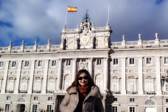Palacio Real de El Pardo : 到此一游照(马德里王宫)