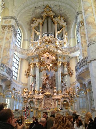 Frauenkirche: 圣母教堂里面