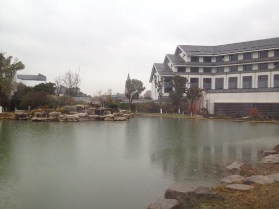 Worldhotel Grand Dushulake Suzhou: 美景