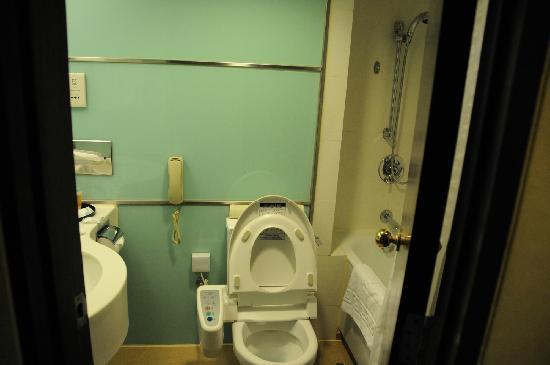 South Pacific Hotel : 卫生间