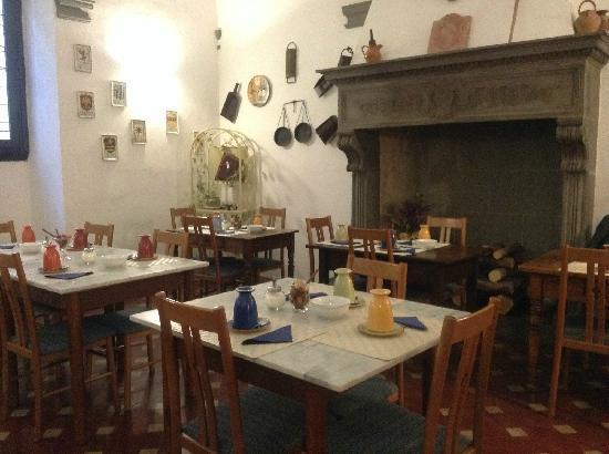 Hotel Vasari Palace: 意大利乡村风格的餐厅