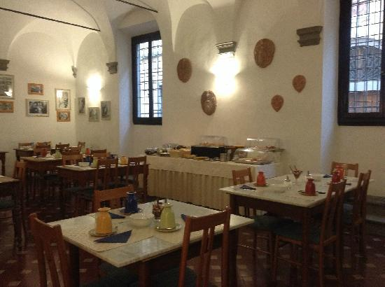 Hotel Vasari Palace : 意大利乡村风格的餐厅