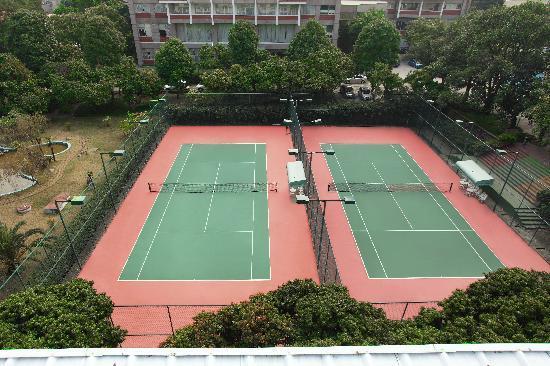 Mingyuan Xindu Hotel: 网球场