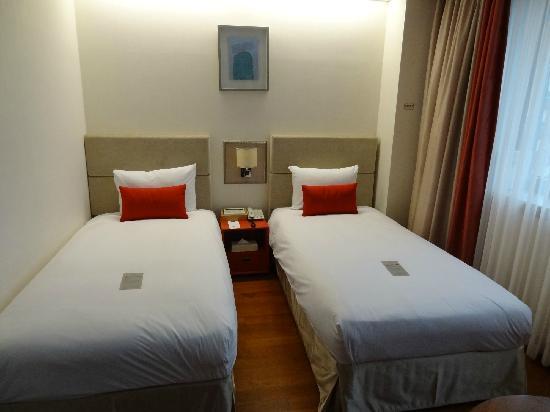 Prince Hotel Seoul: 两张单人床