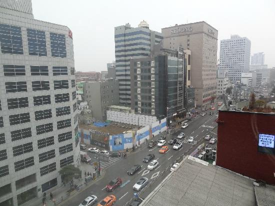 Prince Hotel Seoul: 窗外