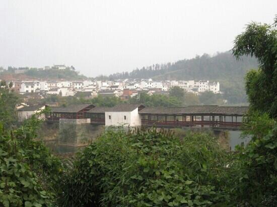 Rainbow Bridge of Shangrao: 远观上饶彩虹桥