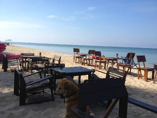 Lanta Klong Nin Beach Resort: 早晨的海滩