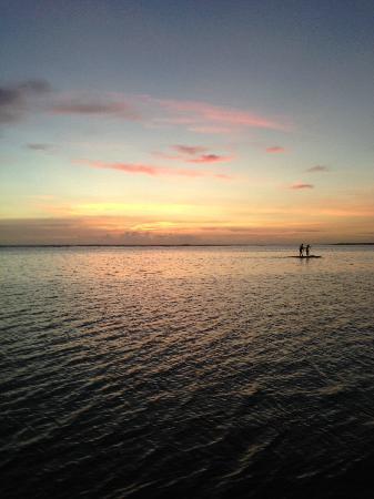 LUX* Saint Gilles: 海边夕阳景色
