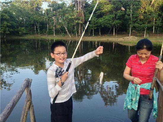 MarinAmazonica: happily fishing