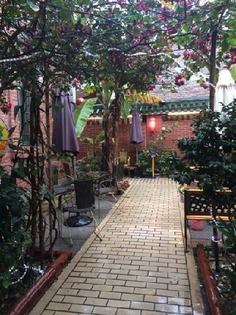 Remy's Garden Hotel: 花园