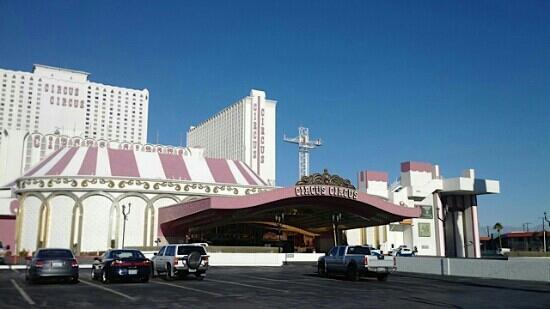 Circus Circus Hotel & Casino Las Vegas: 酒店外观
