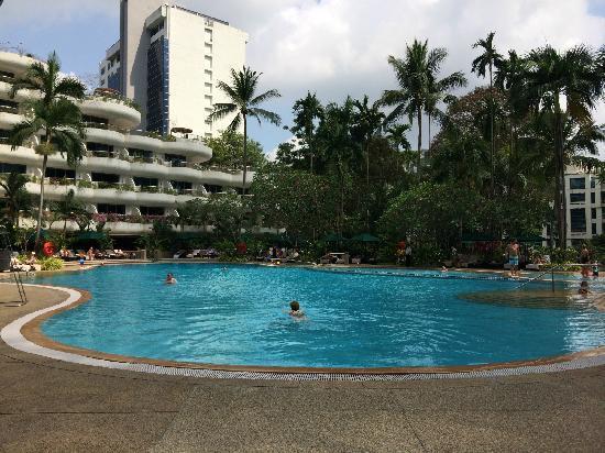 Shangri-La Hotel, Singapore: 泳池
