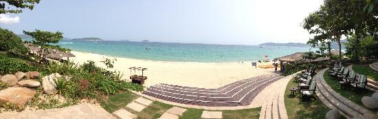 Sheraton Sanya Resort: 沙滩