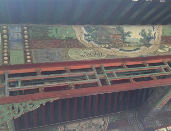 Long couloir du Palais d'été : 长廊油漆彩画