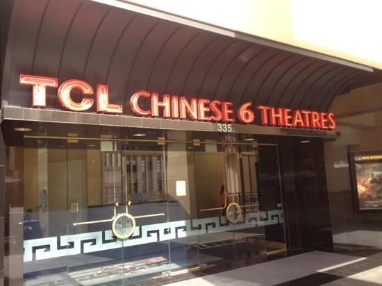 TCL Chinese Theatres: 中国剧院