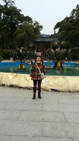 Nanhua Buddhist Temple: 妈妈在南华寺