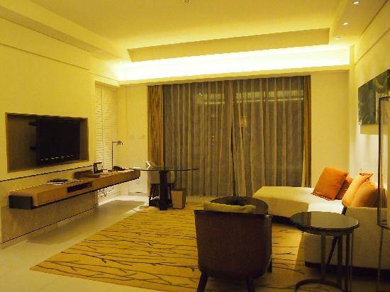 Renaissance Sanya Resort & Spa : 房间客厅
