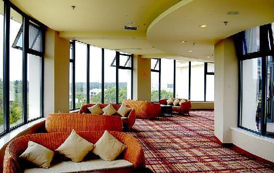 Baiyunshan State Guest House: 健身房休息区