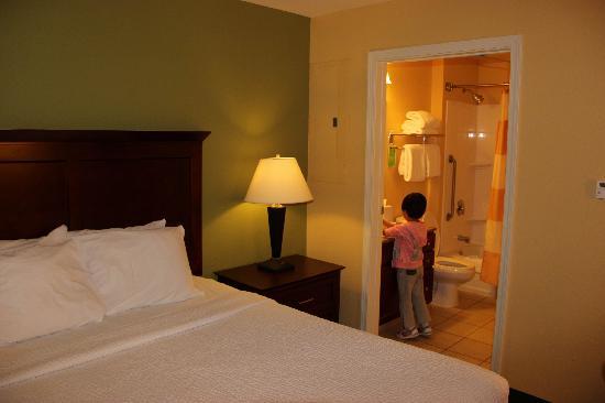 TownePlace Suites Pocatello : 卧室