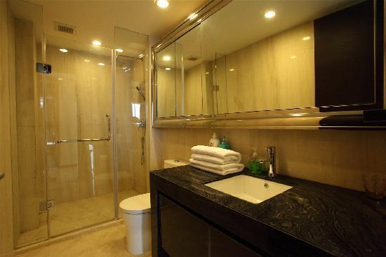 Lejiaxuan All Suites Service Apartment Qingdao Aofan Zhongxin: 豪雅观海轩