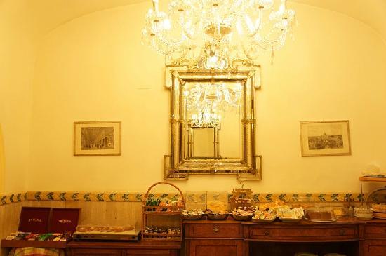 Villa San Lorenzo Maria Hotel: 餐厅
