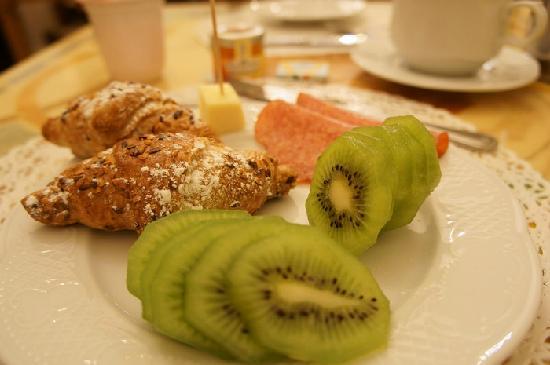 Villa San Lorenzo Maria Hotel : 早餐
