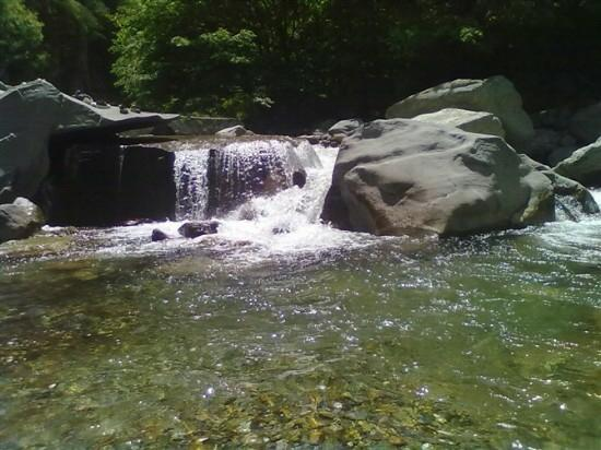 Jiulong Pond Scenic Resort of Qinling: 漂亮