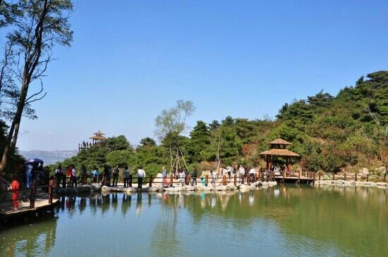 Jiu Ru Shan Waterfalls : 九如山
