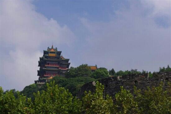 Yuejiang Tower : 阅江楼景区