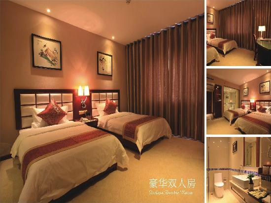 Goten Hotel : 豪华双人房