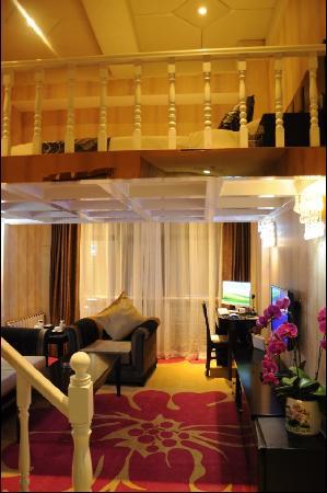Wangjunfu Hotel: 豪华复式房
