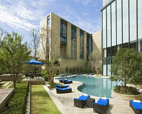Sheraton Jinan Hotel: 室外泳池